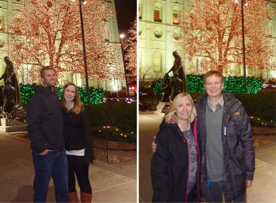 Salt Lake City - Temple Square Lights